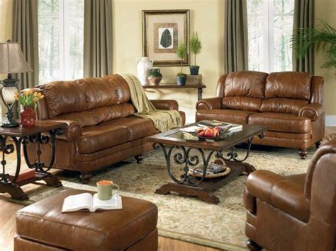 brown leather furniture decorating ideas brown leather sofa decorating ideas iinterior design for a living room with a fireplace