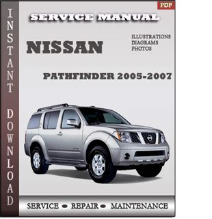 manual repair free 2006 nissan pathfinder regenerative braking 2005 2007 nissan pathfinder r51 service repair manual