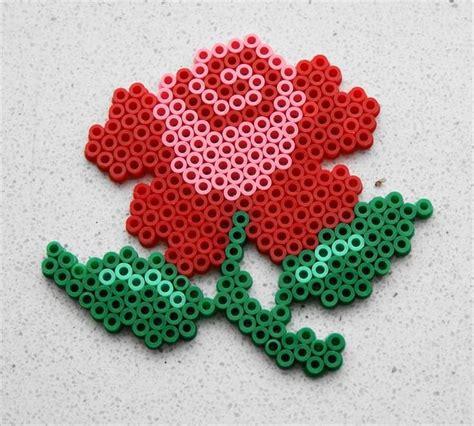 a bead of roses perler by pien d perler 174 gallery mat