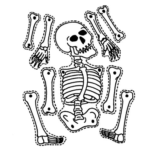 printable arts and crafts projects simple skeleton drawing drawing gallery