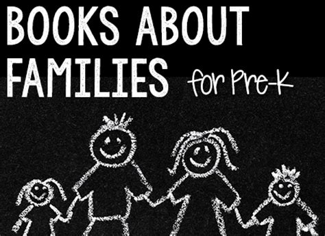 picture books about family families theme prekinders