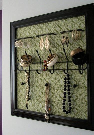 how to make your own jewelry holder make your own jewelry holder out of an frame and