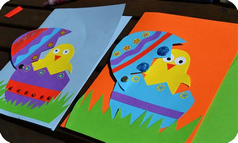 easter cards to make for children easter s coming the green dragonfly