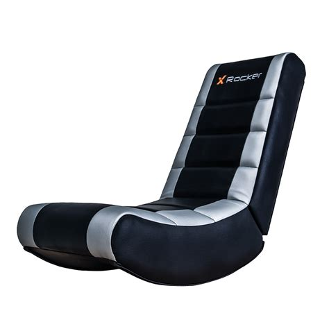 Chair Rocker by X Rocker Silver Rocker Gaming Chair The Gamesmen