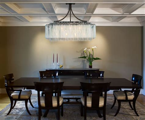 rectangular dining room lighting rectangle dining room chandeliers 02 plushemisphere