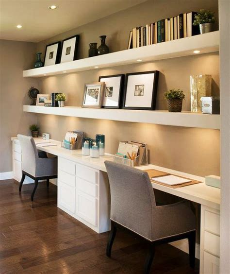 home office desks ideas 35 floating shelves ideas for different rooms digsdigs