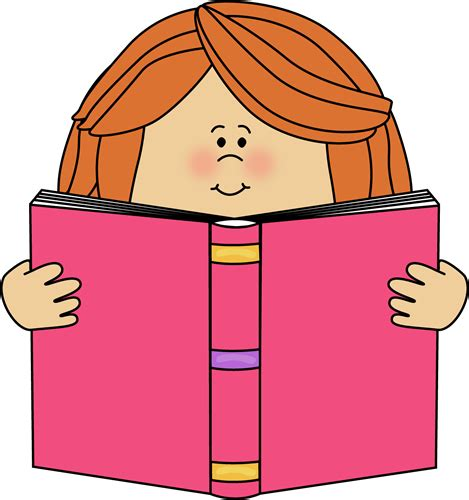read picture books free reading a book clip clipart best
