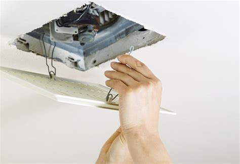 project guide installing a bath fan at the home depot