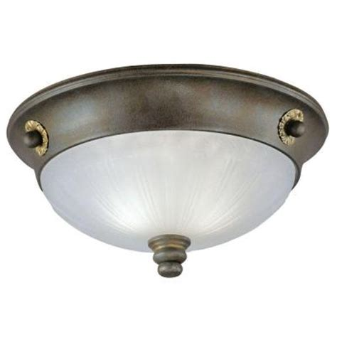 home depot ceiling light fixtures westinghouse 2 light ceiling fixture excavated bronze