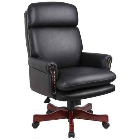 executive office chair leather black leather executive chair review office architect