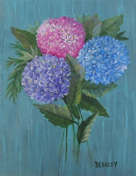 acrylic painting hydrangea 25 best ideas about hydrangea painting on