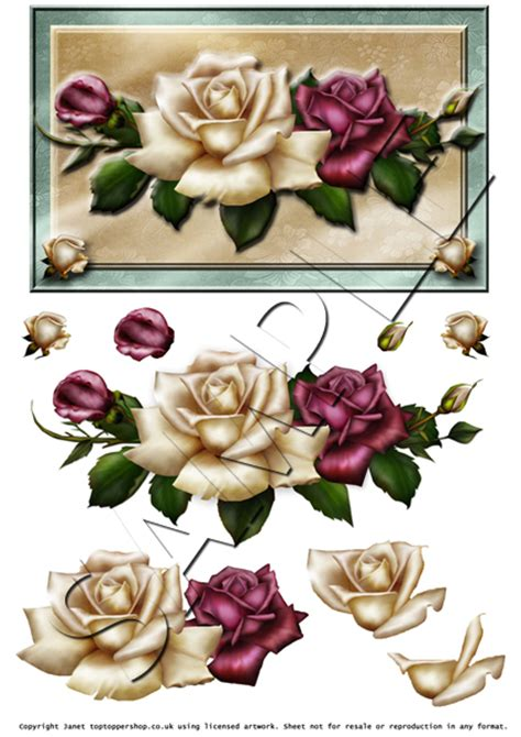 free decoupage images antique roses decoupage digital