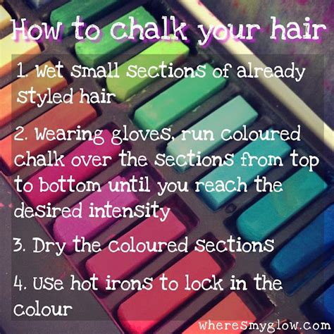 how to use in hair 1000 ideas about chalk hair colors on hair