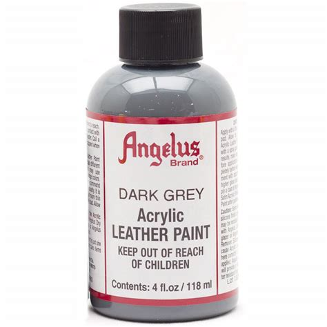 angelus paint grey buy angelus leather paint 4 oz grey