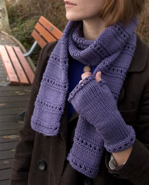 scarf knitting patterns for beginners new free pattern montgomery scarf and mitts tricksy