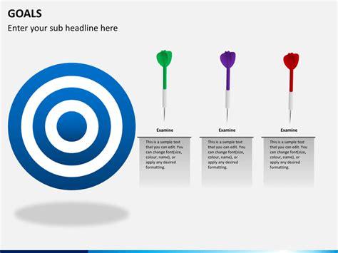 goals powerpoint template sketchbubble