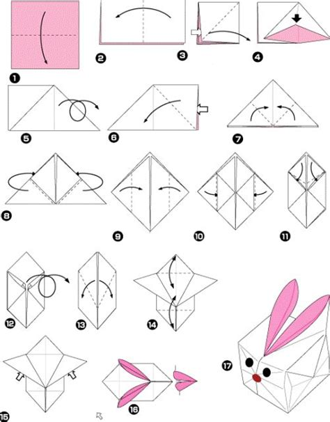 how to make a bunny origami origami rabbit box origami