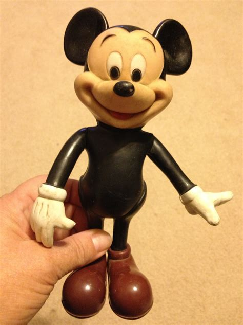 mickey mouse rubber sts vintage mickey mouse rubber doll by abmdam on etsy