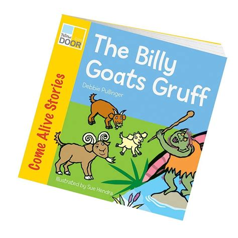 picture book story billy goats gruff story book class readers and big book