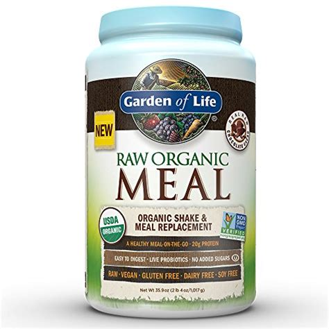 Garden Of Chocolate Meal Garden Of Meal Replacement Organic Plant Based
