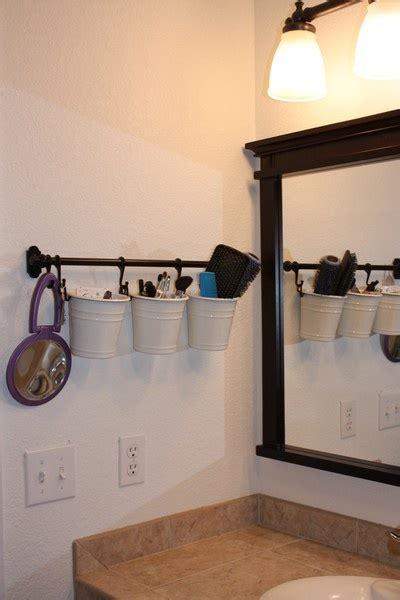 bathroom hanging storage hanging bathroom storage oh so crafty