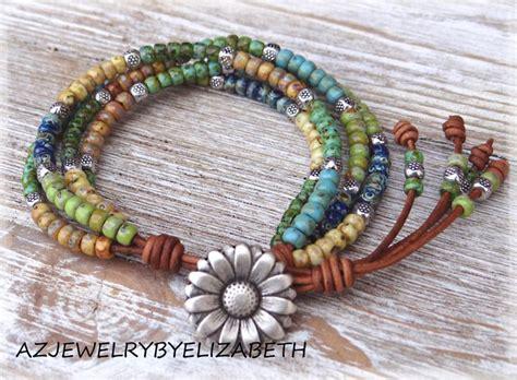 beaded wrap best 25 leather wrap bracelets ideas on wrap