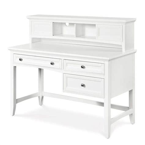 Ikea S Hooks magnussen kenley wood 3 drawer desk with optional hutch in
