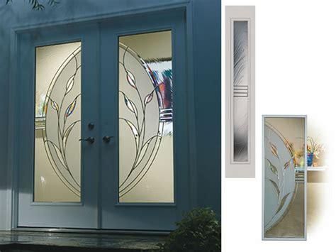 big glass door decorative glass inserts for doors decorative glass