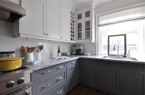 lower kitchen cabinets darker lower kitchen cabinets yay or nay toni schefer