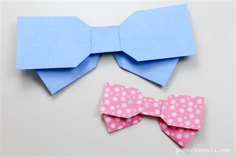 origami bow origami bow layered paper kawaii