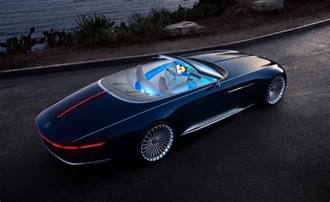 Car Wallpaper 6 by Look The Vision Mercedes Maybach 6 Cabriolet