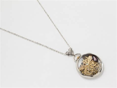 steunk jewelry locket necklace 14k white 100 images white gold locket