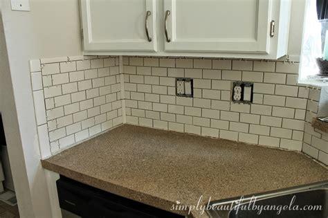 tile backsplash trim simply beautiful by angela installing a tile backsplash