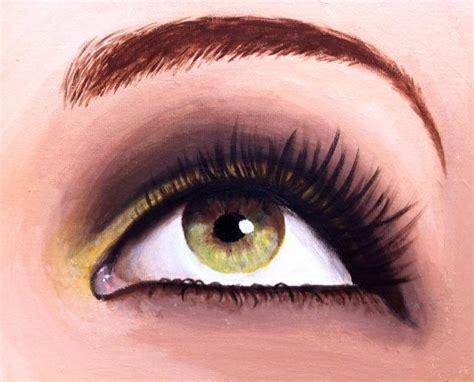 acrylic paint eye eye painted in acrylic by kelseypaigel on deviantart