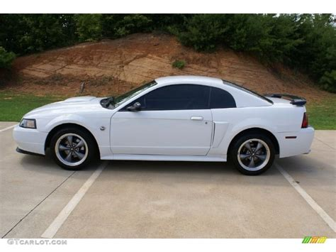 2004 Ford Mustang Coupe by White Mustang 2004 Oxford White 2004 Ford Mustang Gt