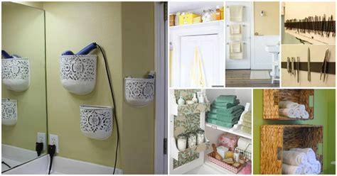 bathroom storage and organization 30 brilliant bathroom organization and storage diy