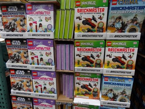 costco picture books lego brickmaster building bricks and book