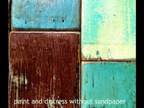 chalk paint distressing diy a diy how to paint distress wood furniture