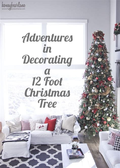 13 foot tree decorating a 12 ft tree