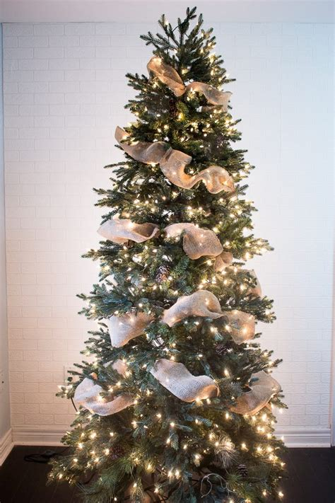 wrapping a tree with ribbon how to put ribbon garland on a tree ehow