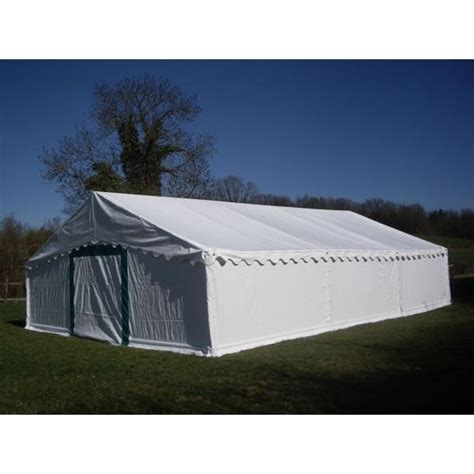 barnum tente de reception plein air 6x12 complete 72 m 178 toit blanc trigano mdc
