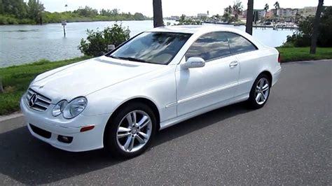 Mercedes Clk350 Coupe by Sold 2008 Mercedes Clk 350 Base Coupe 53k Navigation