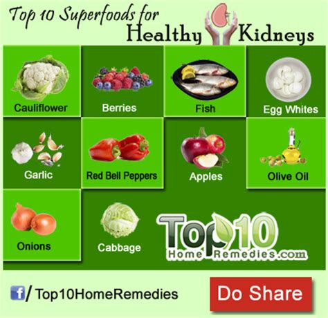 food for a top 10 superfoods for healthy kidneys top 10 home remedies