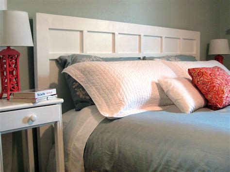 make king headboard how to make a simple cottage style headboard how tos diy