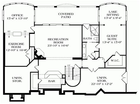 house plans with rear view house designs rear views home deco plans