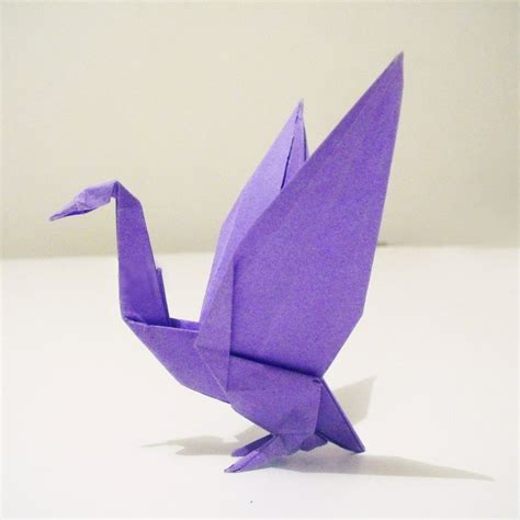 how to make a origami goose origami goose by alejandro delafuente on deviantart