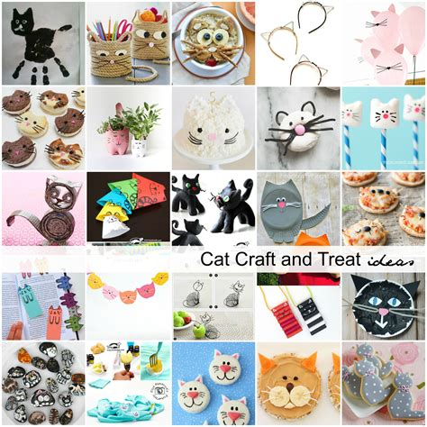 cat craft projects cat craft and treat ideas for the idea room