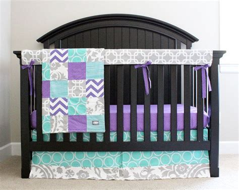 grey and purple crib bedding best 25 teal and grey ideas on living room