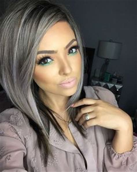 popular trending gray hair colors 2017 hair color trends fashion trend seeker