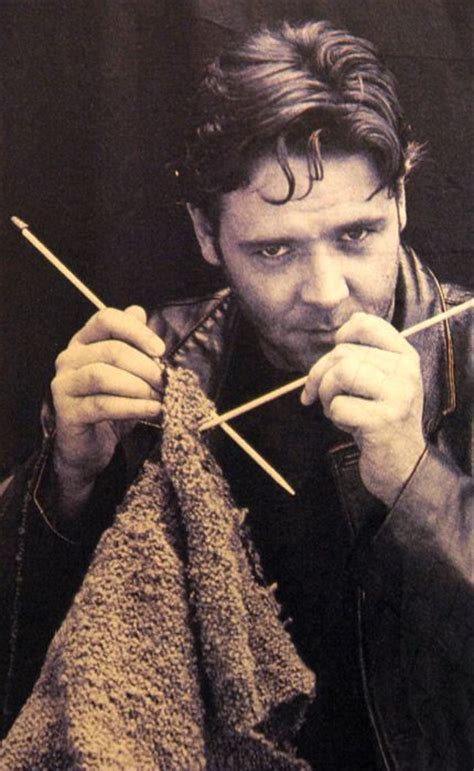 real knitting crowe because real knit because i m